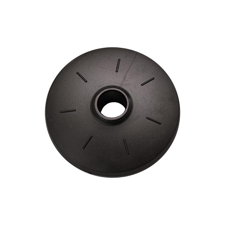 Rennteller Ø65mm, innenØ 13mm, 10 Paar, schwarz