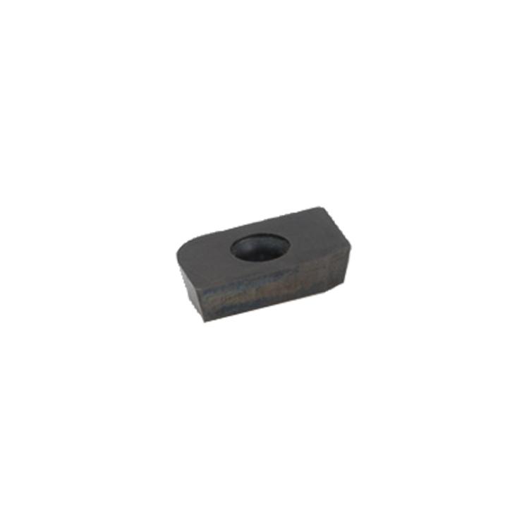 Hartmetall Seitenwangenmesser rechteckig mit Schräge und Radius für 503-1000