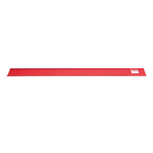 Ablageplatte Alu rot, zu KL1072